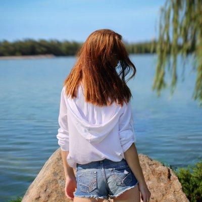 Женская пляжная туника, белая