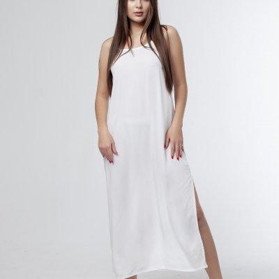 Элегантная ночная сорочка, белая